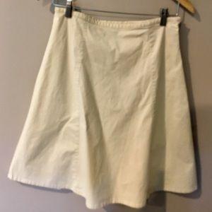 GAP Khaki A-Line Skirt